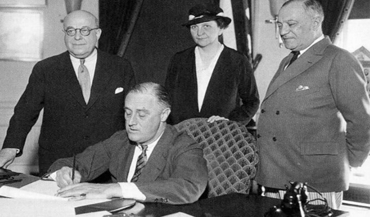 The National Labor Relations Act aka the Wagner Act of 1935