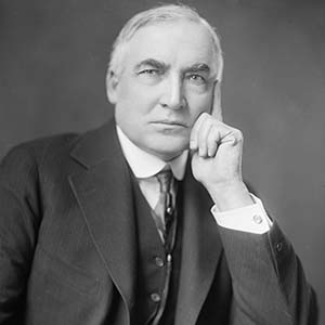 Warren G Harding - Great American Biographies